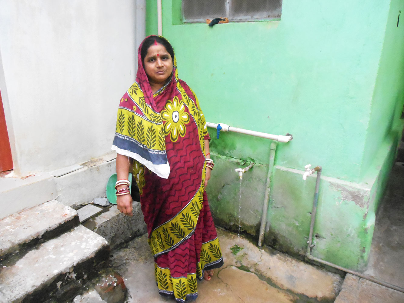Piped water & Toilet to rural houses…. Living with dignity